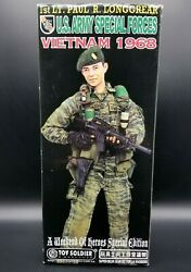 16 Toy Soldier Vietnam 1st Lt Paul Longgrear Us Army Special Forces 12 Figure
