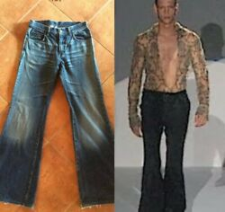 By Tom Ford 2000 13andrdquoflared Blue Denim Jeans 48it 30-32andrdquo House Of