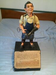 1920 Automaton Mechanical Doll Intended As A Shop Window Or Advertising Counter