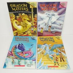 Dragon Masters Book 9 10 11 12 By Tracey West Book Lot Of 4 Reading Level Rl 2