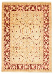 Vintage Hand-knotted Carpet 8and03910 X 12and0390 Traditional Oriental Wool Area Rug