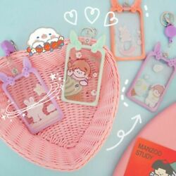 Bag Pendant Bank Card Id Card Protective Cover Credit Card Holder Bus Card