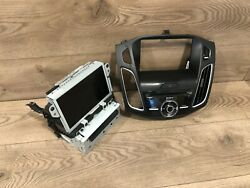 16_2019 Ford Focus Face Control Sony Sync 3 Navigation Stereo Display Screen Oem