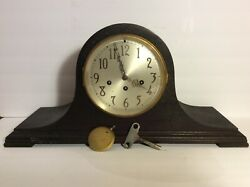 Antique Seth Thomas 8-day Westminster Chime Mantle Clock W/ 113 Movement. Works.