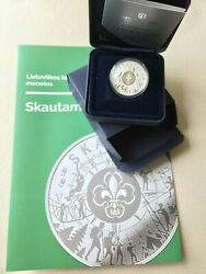 2019 Lithuania 5 Andeuro Coin Dedicated To Scouts