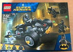 Set Boite Lego Super Heroes Marvel 76110 Batman The Attack Of The Talons