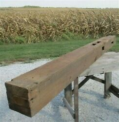 Reclaimed Barn Beam Wood Shelf, Architectural Salvage Fireplace Mantel A22,