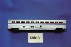 N Scale Con-cor Amtrak Superliner Passenger Baggage Coach. Phase Ii.  Used