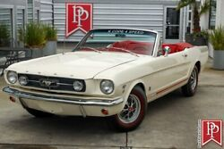 1965 Ford Mustang Gt Convertible K-code 1965 Ford Mustang Gt Convertible K-code 0 White