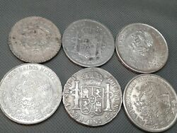 Silver Coin Lots Some Old World Coins 1825 To 1978 6 Silver Collectibles