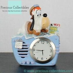 Extremely rare Droopy desk clock. Vintage by Tropico Diffusion for Avenue of th