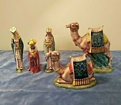 Byron Molds Camel Ceramic Hand-painted Christmas Nativity Figures Replacement