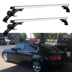 2x 48 Car Roof Rack Cross Rail Bar Luggage Bicycle Boat Carrier For Infiniti