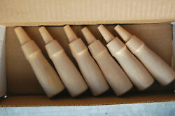 Six Socket Chisel Handles Made Of Maple Wood Two Sizes