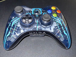 Official Microsoft Xbox 360 Controller Halo 4 Limited Edition Oem