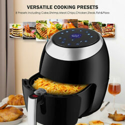 💥air Fryer 6.5l Digital Touch Screen No Oil Smoke Fries Meat Electric Air Usa💥