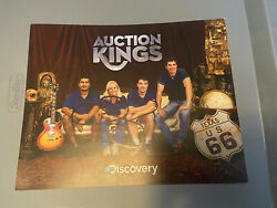 Auction Kings Cindy Shook Signed Autograph Gallery 63 Signature