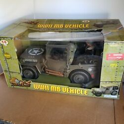 21st Century Toys Ultimate Soldier 1/6 Scale Wwii 1943 Mb Jeep Us Army Truck