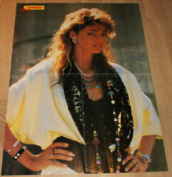 Sandra Cretu Lauer / Human League Poster From Rock Poster Magazine1980and039s.