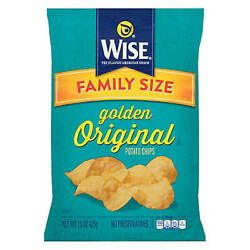 Wise All Natural Potato Chips, 16 Oz.