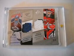 2009 Ud Sp Game Used Authentic Fabrics Fives 3/5