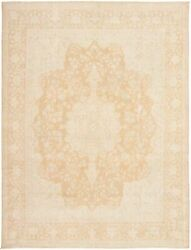 Vintage Hand-knotted Carpet 9and0397 X 12and0398 Traditional Oriental Wool Area Rug