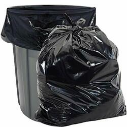 Heavy Duty 55 Gallon Trash Bags - Value 50 Pack - 1.5 Mil Industrial Strength...