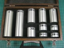 Applied Test Systems/ir Astm Area Amplitude Block Set Of 10 Used