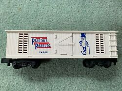 American Flyer 24068 Planters Peanuts Repro Boxcar Ex+ Painted W/decals Pike
