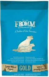Fromm Gold Puppy Large Breed Puppy Dry Dog Food Chicken 15-33-lb