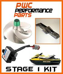 Sea Doo Rxt-is/gtx-is/rxt-x As Stage 1 Kit 2010 Scom Intake Grate Impeller Solas