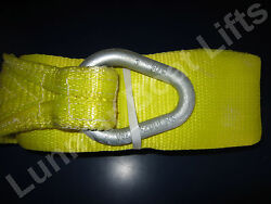 Lunmar Boat Lift Slings 4 X 20and039 Weighted Nylon Sling W/ Keel Pads