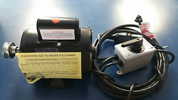 Lunmar Boat Lifts 1hp Motor Hd - Tenv W/switch, Gfci, And Wire
