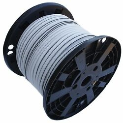 3/8 X 250and039 Usa Shock Cord Bungee Cord Rubber Rope Truck Tarp Strap Tie Down Wht