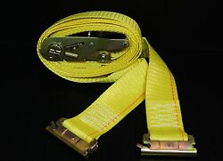 24 E Track Ratchet Straps 12and039 Cargo Van Box Truck Enclosed Trailer Tie Down