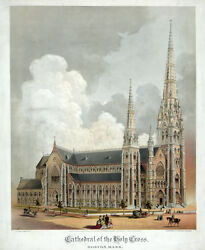 3837.cathedral Of The Holy Cross Poster.church.decorating Home Interior Design