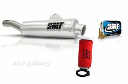 Hmf Full Exhaust + Jet Kit + Kn Kandn Air Filter Yamaha Grizzly 660 02-08