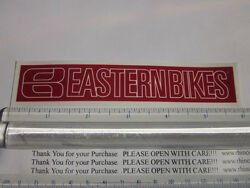 6 Eastern Bikes Red Bmx Street Bicycle Ride Race Car Tool Frame Sticker Decal