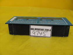 Verteq Process Systems Sc1600-5 Srd Control Module 120v Used Working