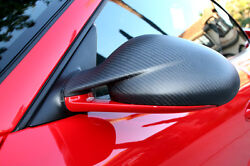 Porsche 997.2 Gt2rs Style Carbon Fiber Mirror Covers For Late 997 Turbo Carrera.