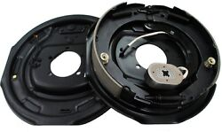 New 12 X 2 Electric Trailer Brake Assembly Pair Set For 7000 Lbs Axle -21005
