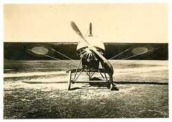 Russian Wwi Air Force Airplane Real Photo