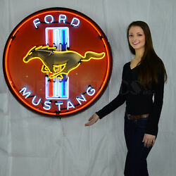 Neon Sign Art Deco Chevy Chevelle Genuine Chevrolet Ss Steel Can Marquee Lamp