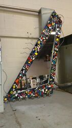 ONE OF A KIND costume made decor mirror art