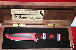 Schrade Knife Customized By Brian Yellowhorse With 180 Off Summer Special