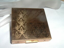 Vintage Zell Fifth Avenue Compact Never Used Excellent Condition In Gift Box