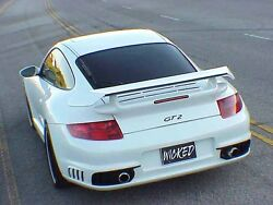 Porsche 997 GT2 style Rear Bumper for 997 Turbo & C4S fits: 2005 to 2012
