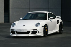 Porsche 997 Twin Turbo Style Front Bumper For All 997 Carrera And Turbo 05 To 12
