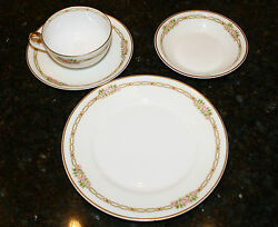 40 Pieces Of Theodore Haviland Limoges France China