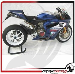 Zard Carbon Racing - Ducati 1199 Panigale SR Underseat Full Exhaust System+Tail